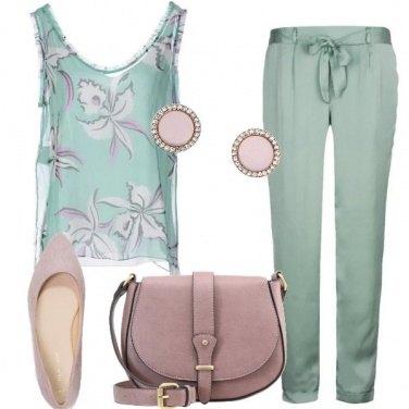 Outfit Abbinamenti con il verde