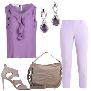 Outfit Sfumature viola