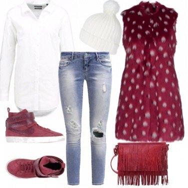Outfit Peloso pois