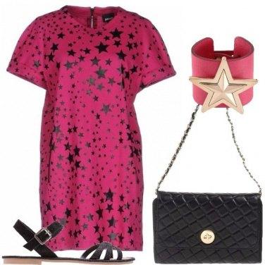 Outfit Il vestito a stelle