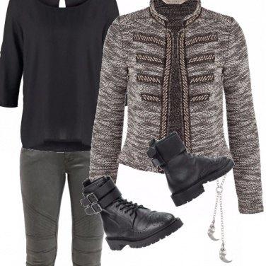 Outfit Biker e artigli