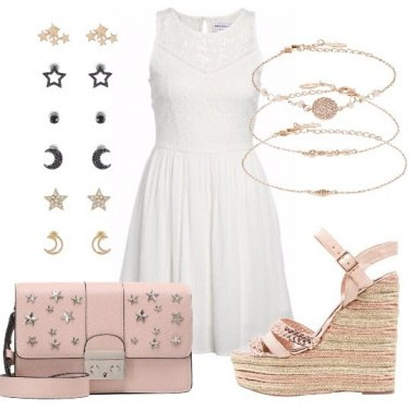Outfit Abitino bianco