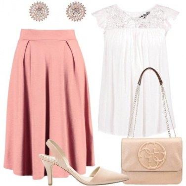 Outfit Poco costoso molto romantico