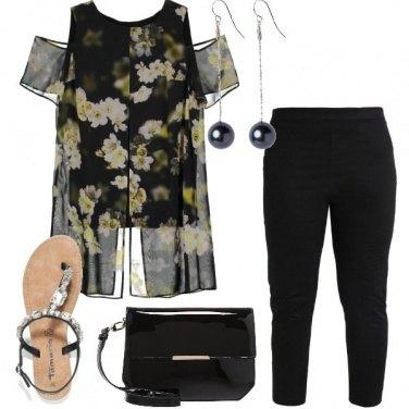 Outfit L\'eleganza dei fiori