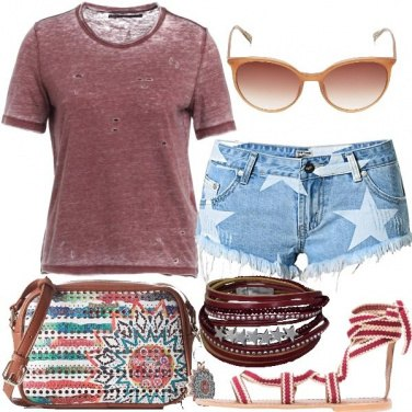 Outfit Look casual e giovanile