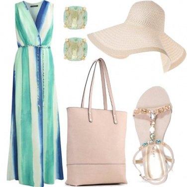 Outfit Nei toni del turchese