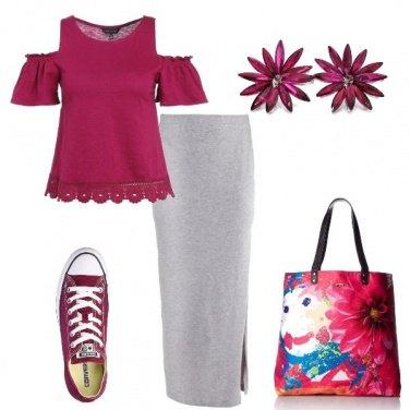 Outfit Questione di porpora