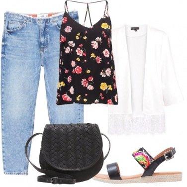 Outfit Un tocco di pizzo