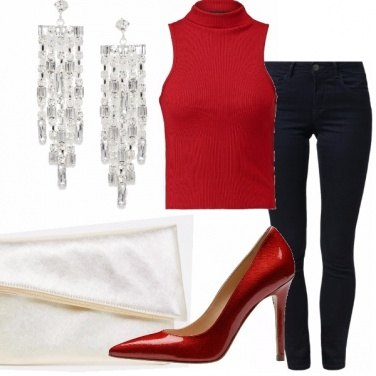 Outfit Tacco rosso splendente!