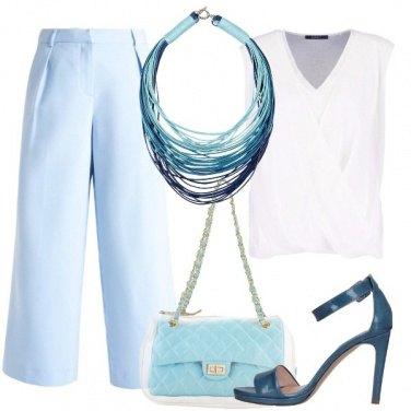 Outfit Maxi collana e mini tracolla