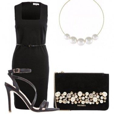 Outfit Tubino e perle