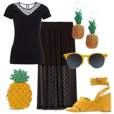 Outfit Voglia di ananas