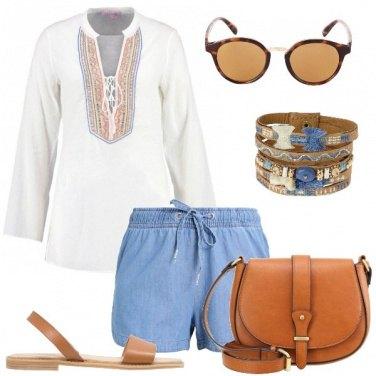 Outfit La tunica con le perline