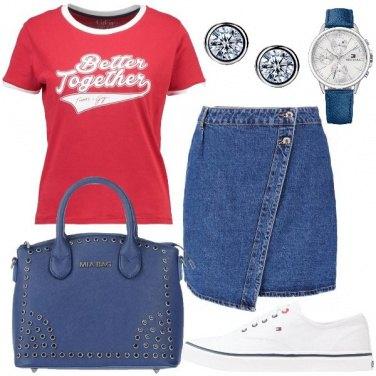Outfit La tshirt rossa