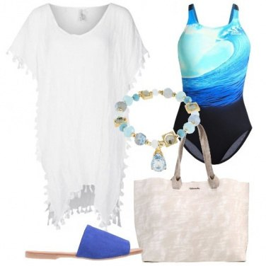 Outfit Colazione in riva al mare