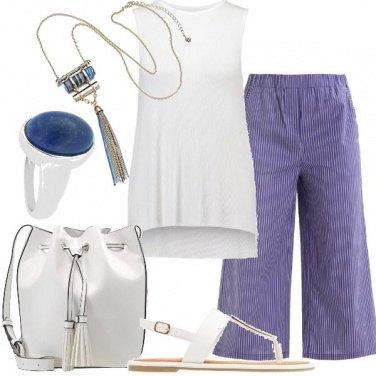 Outfit La borsa bianca