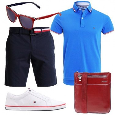 Outfit Sneakers e polo