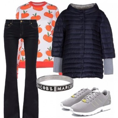 Outfit Orange power