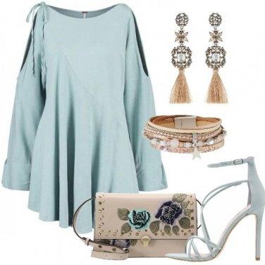 Outfit La tunica pastello