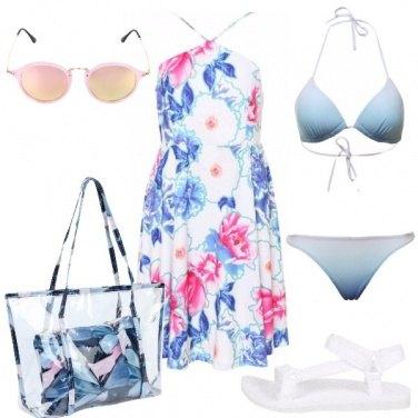 Outfit Un mare di fiori