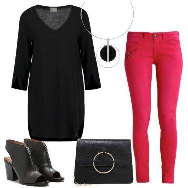 Outfit La tunica nera