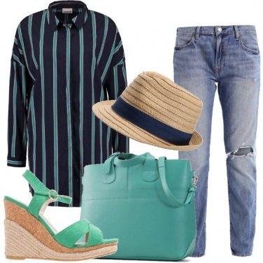 Outfit Vestibilità oversize