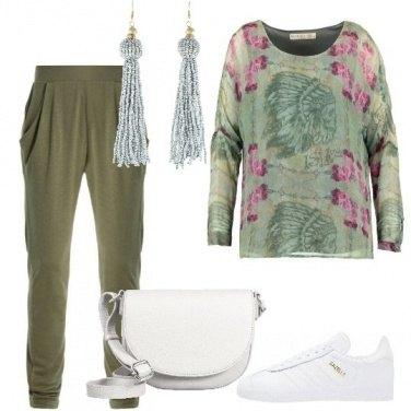 Outfit Accostamenti con il verde militare