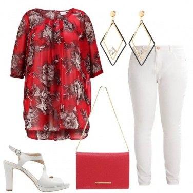 Outfit La tunica rossa