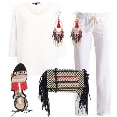 Outfit Abbinamenti con il bianco