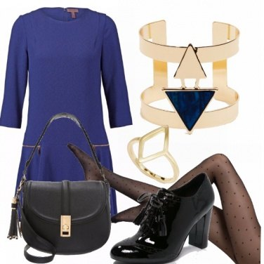 Outfit Blue christmas