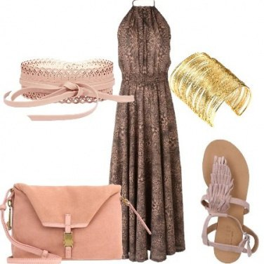 Outfit Frange e animalier