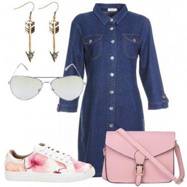 Outfit il vestito in jeans
