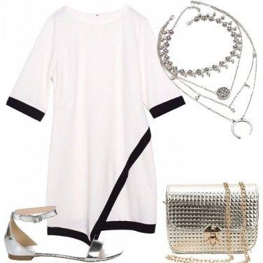 Outfit Il sandalo argento