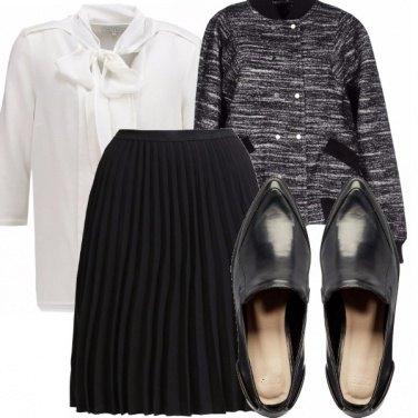 Outfit Classico bianco&nero