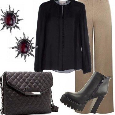 Outfit Pantalone palazzo. Consigli