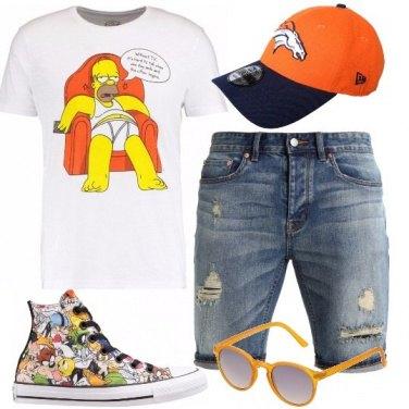 Outfit T-shirt divertente
