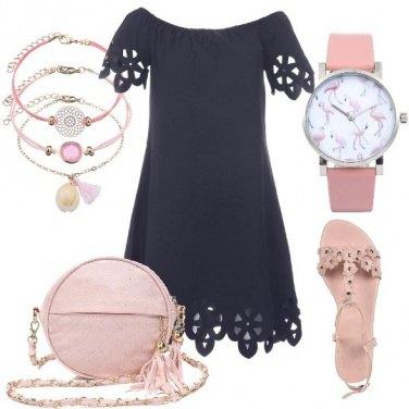 Outfit Abitino blu