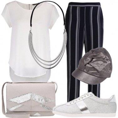 Outfit Quel tocco d\'argento