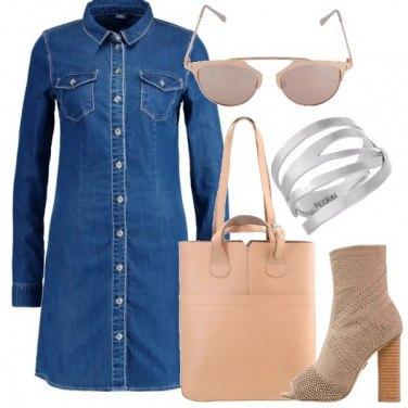 Outfit Mini abito di jeans