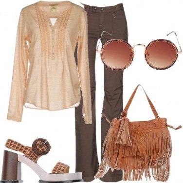 Outfit Il tacco squadrato
