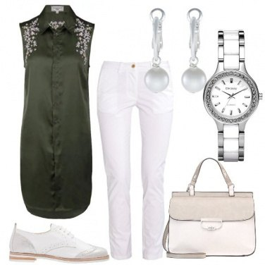 Outfit Ricami e perle
