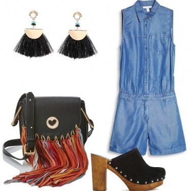 Outfit Playsuit boho