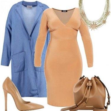 Outfit Tubino e denim