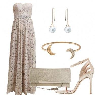 Outfit Abito con merletto