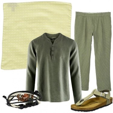 Outfit Toni tenui in lino