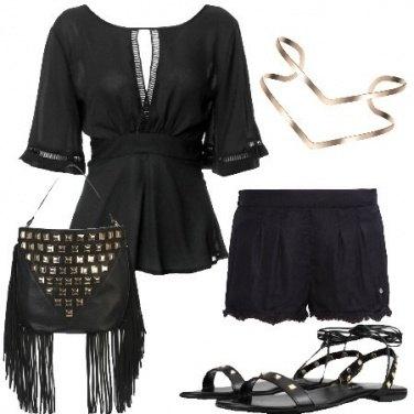 Outfit Frange e borchie