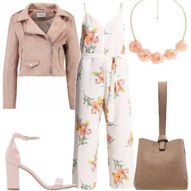 Outfit La jumpsuit floreale