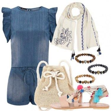 Outfit Etnico moderno