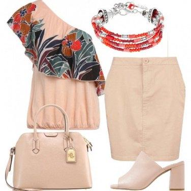 Outfit Delicata con grinta