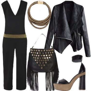 Outfit Jumpsuit in rock